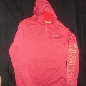 Nike Burnt Red/Orange Hoodie
